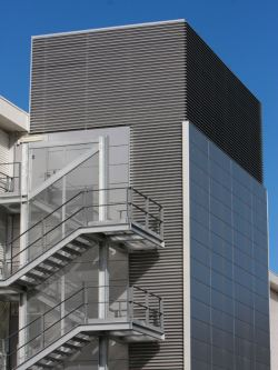 ventilation louvres for buildings