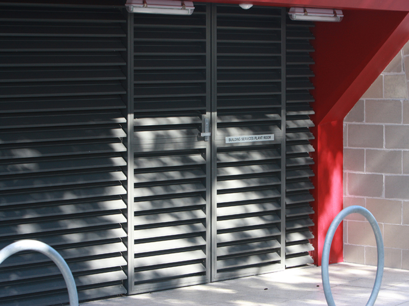 Fixed Ventilation Louvre Amf 120 Ts 2 Stage Austral