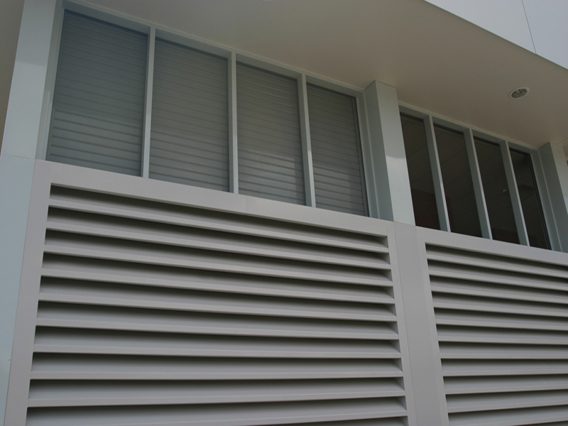 Fixed Ventilation Louvres Austral Monsoon Building