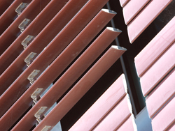 aluminium louvres for commercial buildings