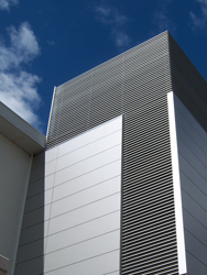 building ventilation, sun shades and facades
