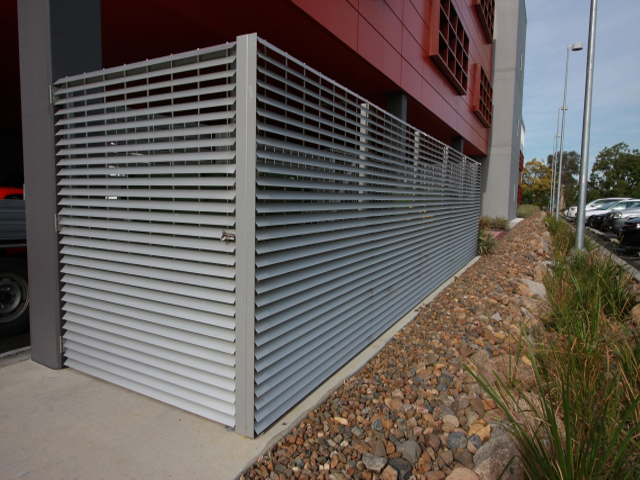Sun Shade Louvres Ame 60 Austral Monsoon Building